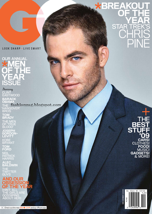 GQ Dec09 Chris Pine