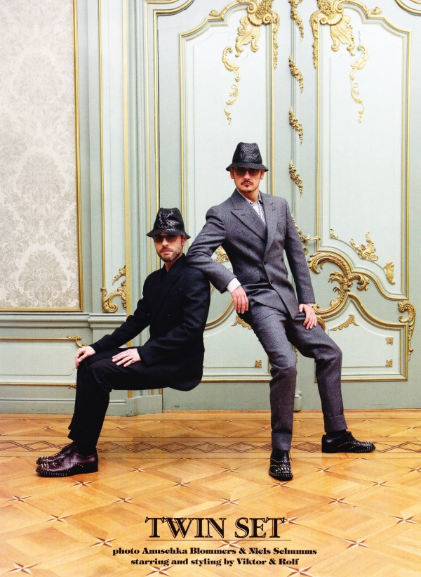 GQ Style Italy Viktor and Rolf2