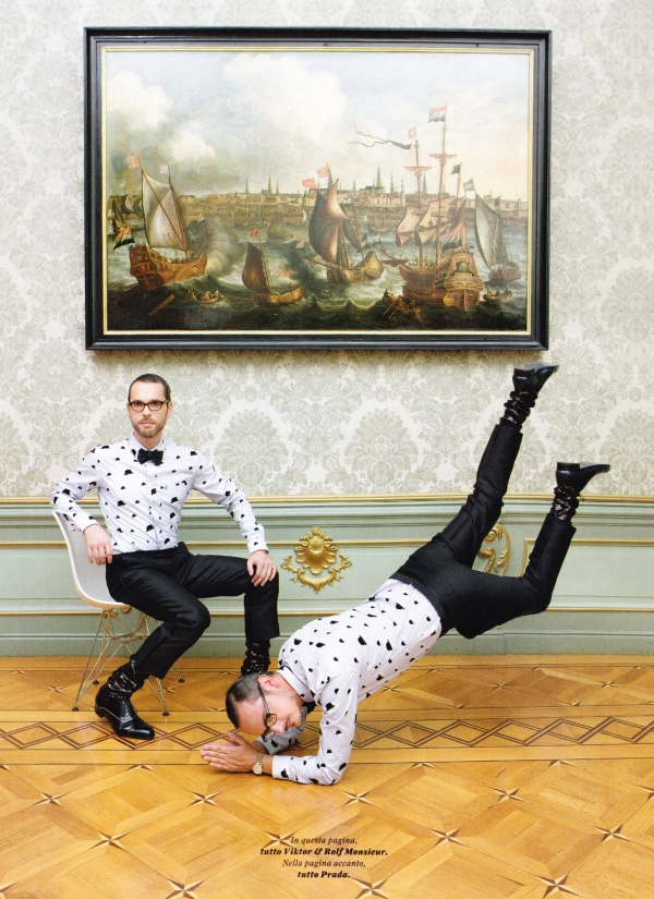 GQ Style Italy Viktor and Rolf6