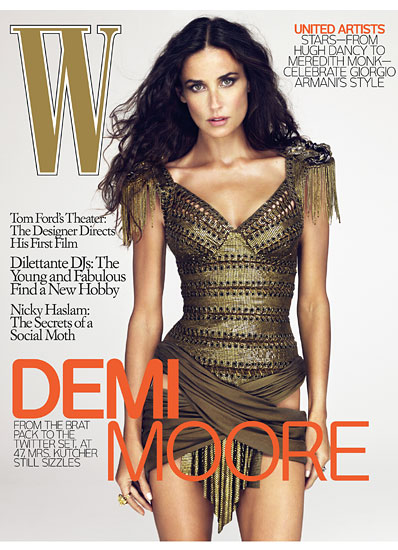 W Dec09 Demi Cover