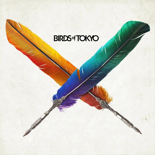 Birds Of Tokyo album cover. Art copyright Birds Of Tokyo