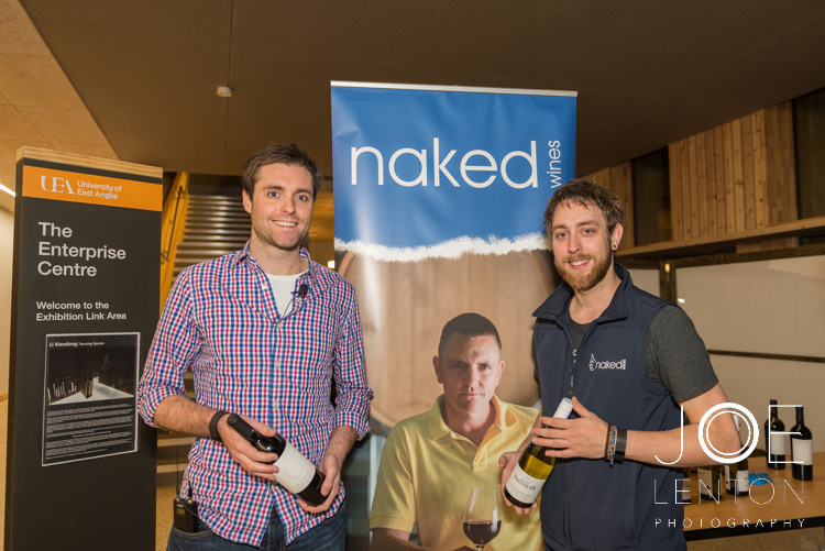 Event photography - brand showcase - Naked Wines