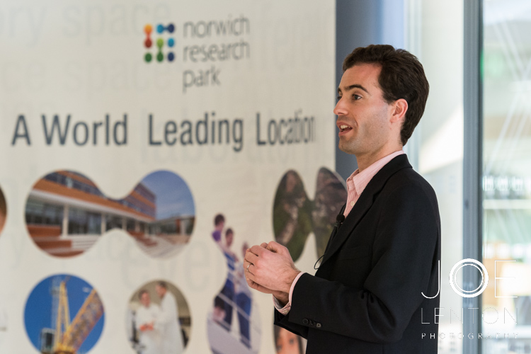 Event photography - guest speaker