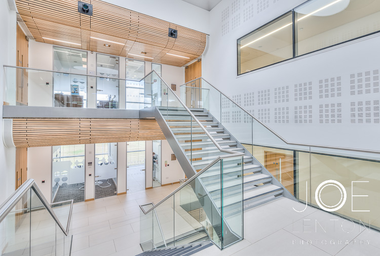 Centrum Stairwell - Architectural Photography - highly commended