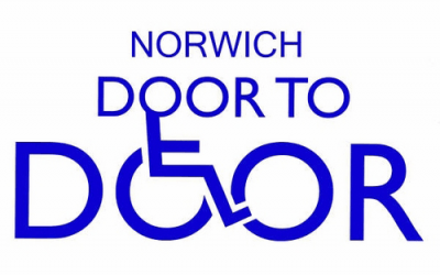 Norwich Door to Door Logo