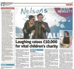 Press & Photography Package - Nelson's Journey Ball Evening News