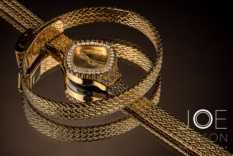 Add value with high quality product photography - watch & bracelet