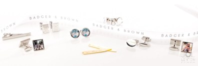 Cufflinks Photography - Product Photography for Badger & Brown - Advertising Banner-2