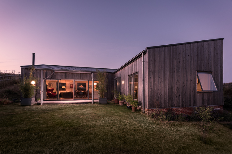 Architectural Photography Exterior Residential Twilight Shot
