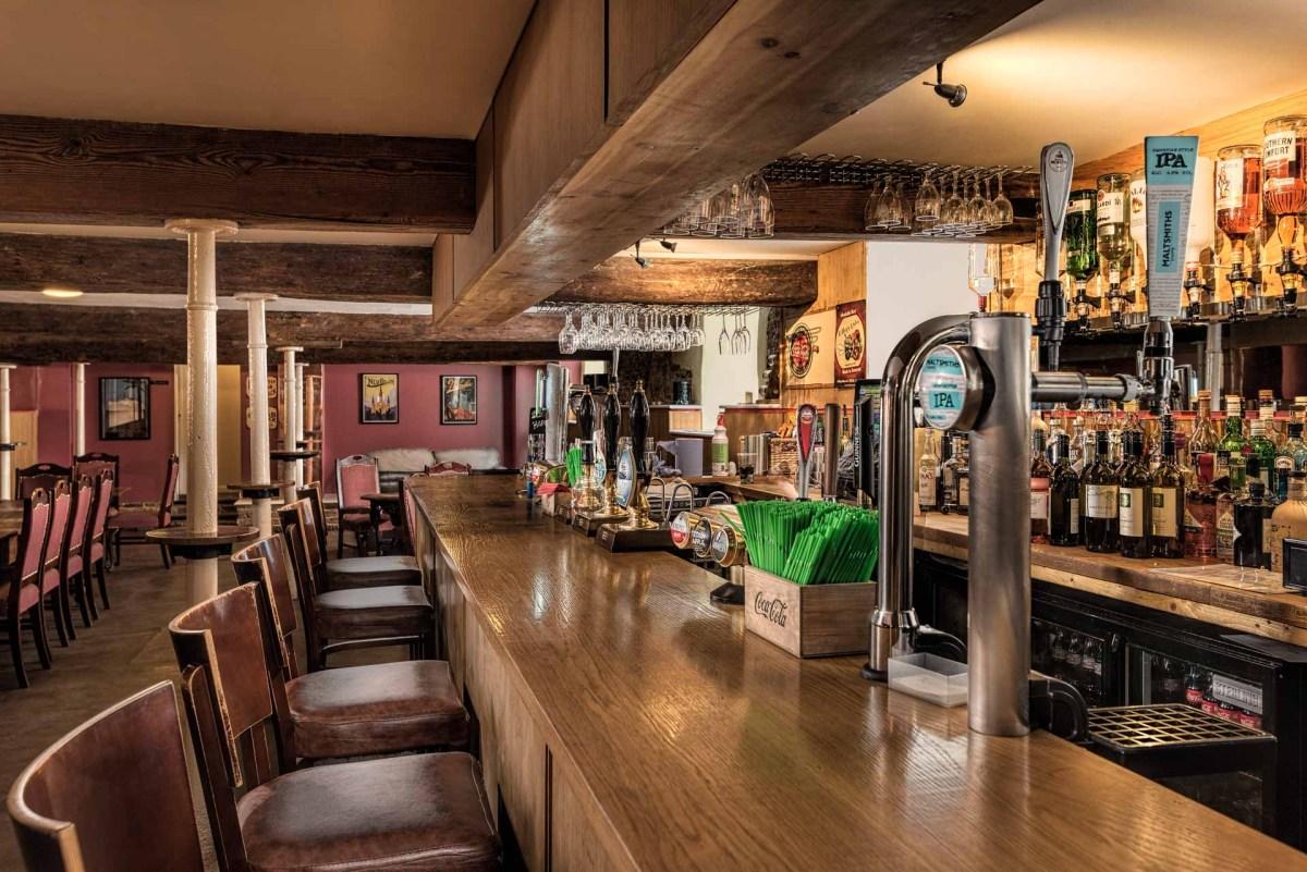 Rathskeller bar area