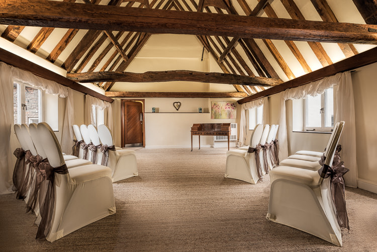 Why choose a specialist architectural photographer - sample beamed room at Hanse House