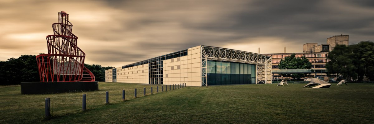 Norwich Architecture - The Sainsbury Centre Long Exposure