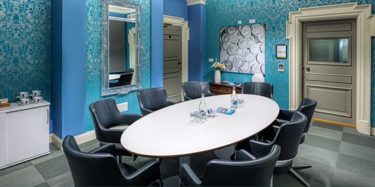 Meeting Room - blue room at OPEN