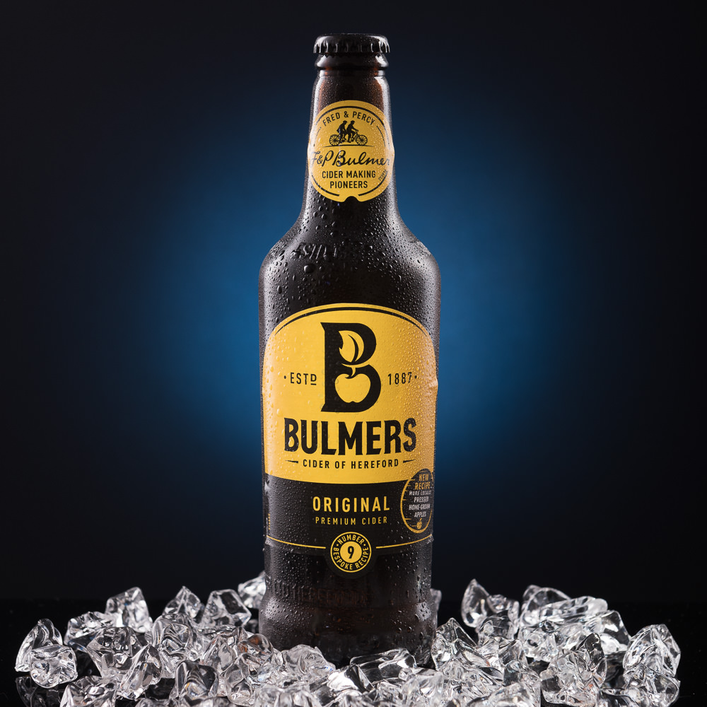 Bottle Photography Sample - Bulmers Cider