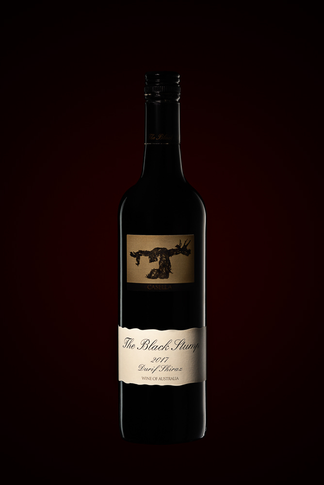 Black Stump Wine Bottle