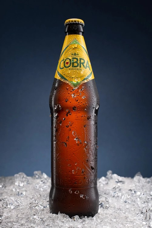 Cobra Beer on Ice