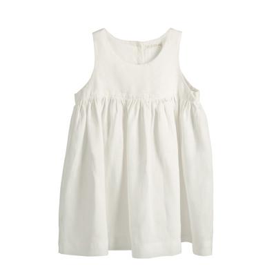 Kalusha white dress - children's clothing packshot