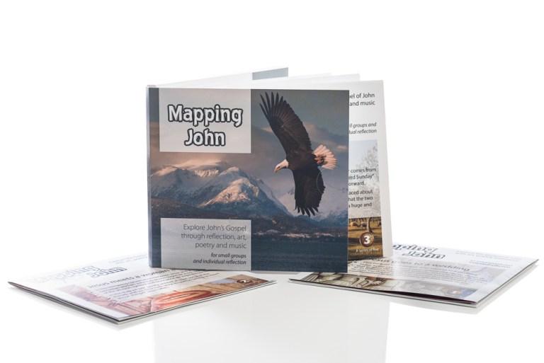 Sample packshot photography - study booklets