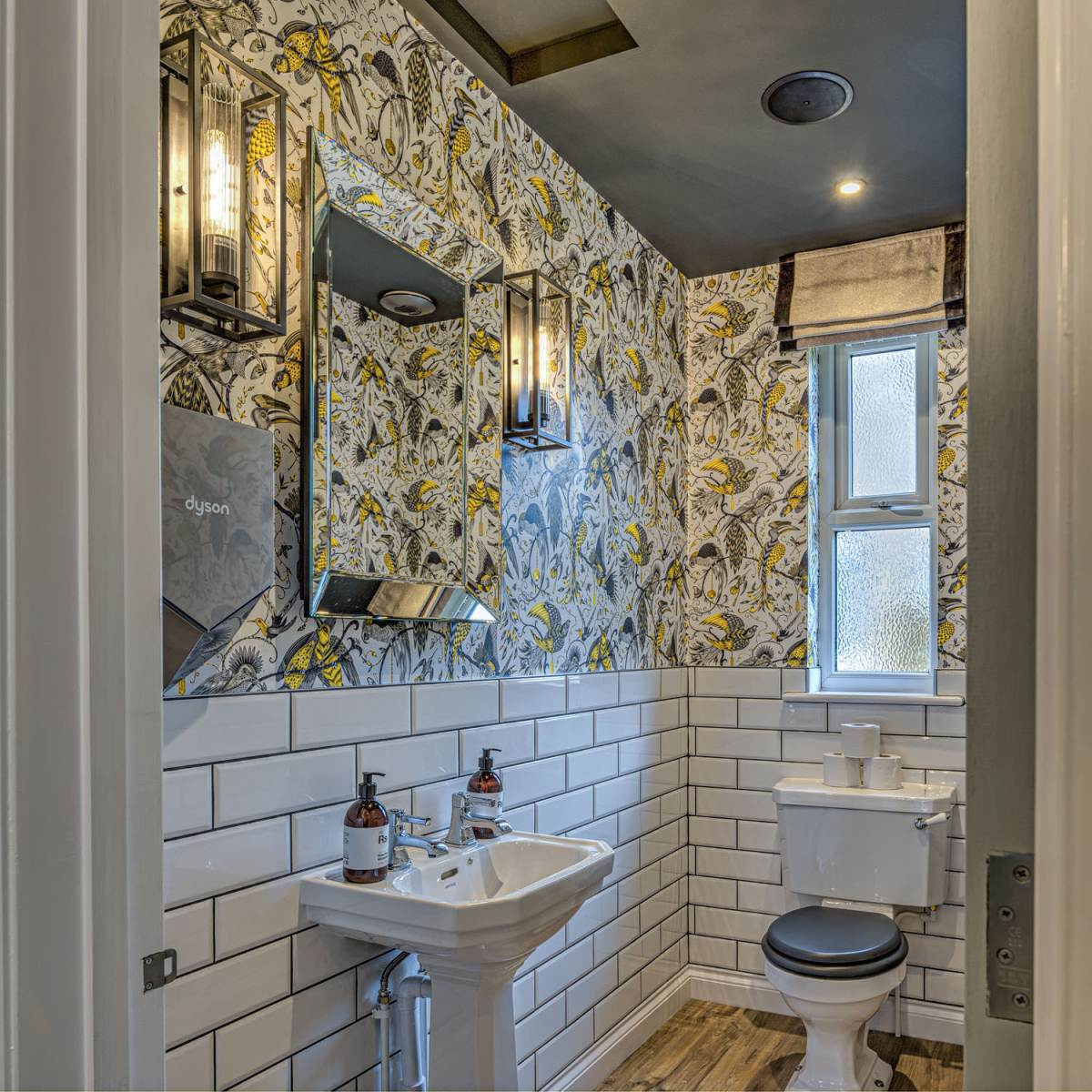 Bathroom at Hogs Head Hotel in Suffolk