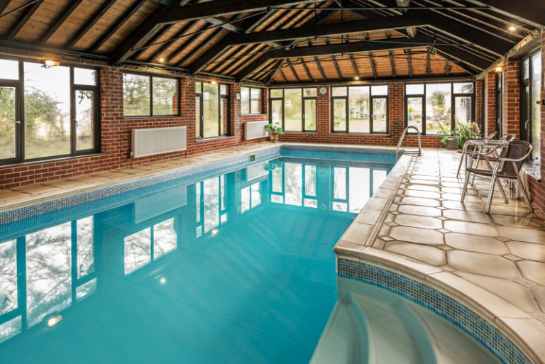 Indoor Swimming Pool - Architectural Photography Sample image