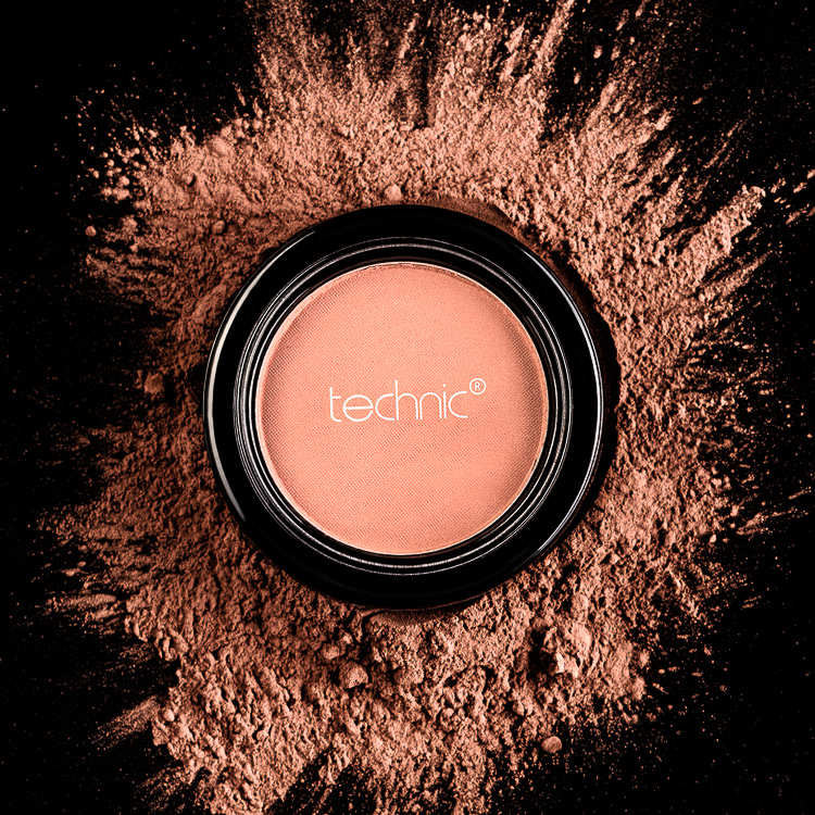 Makeup product photography sample - Technic Face Powder