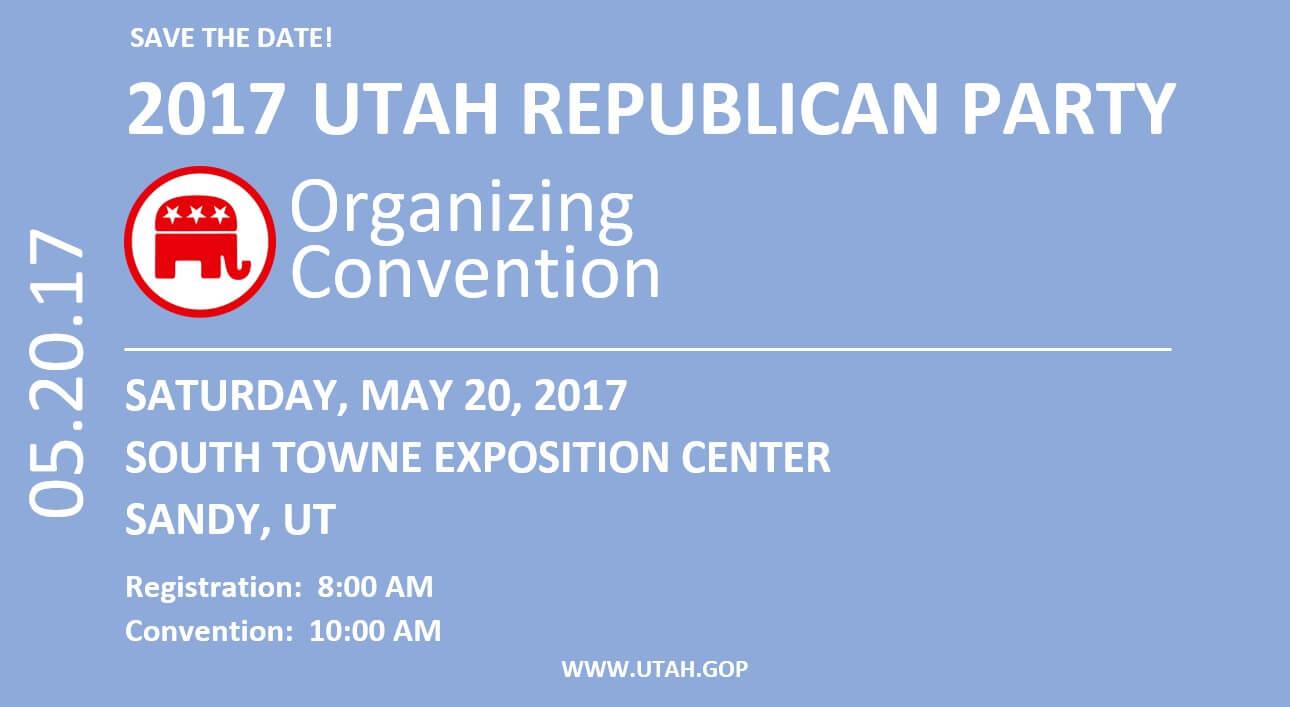 Utah Republican Party Organizing Convention
