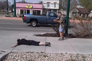 Good guy with gun in Salt Lake City, Utah