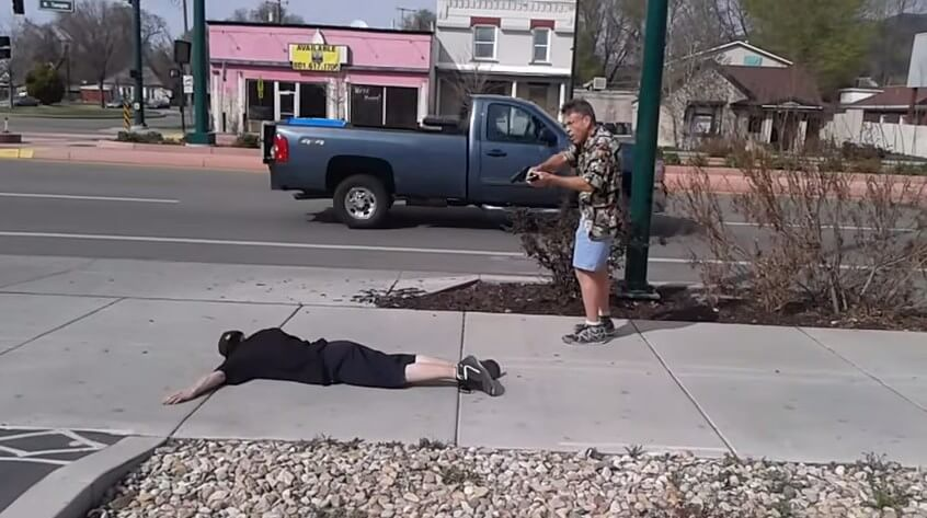 Go to Utah: Good guy with a gun prevents stabbing (video)