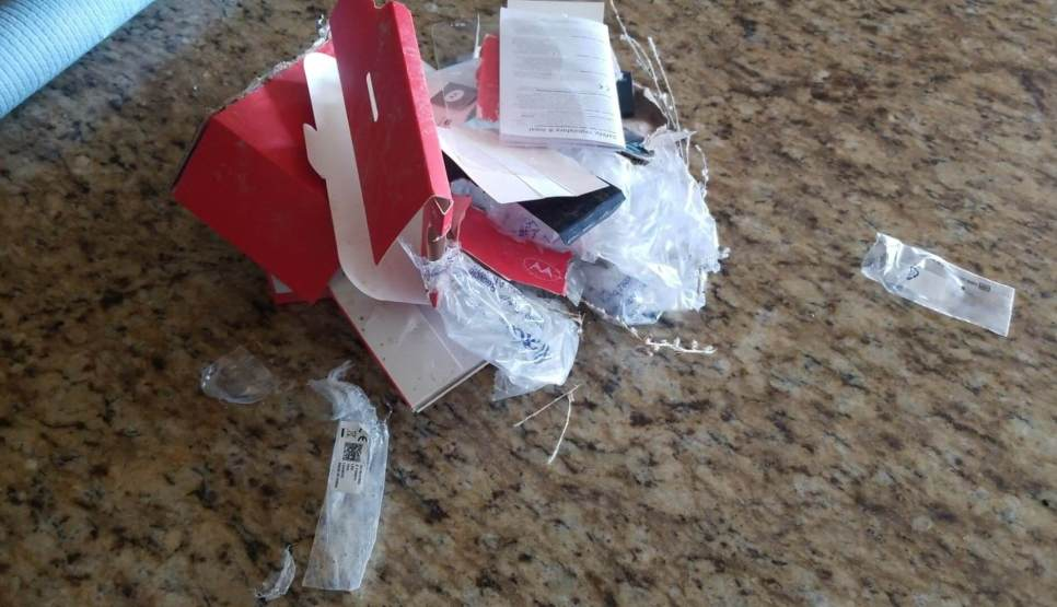 Go to Our dog ate my new phone!
