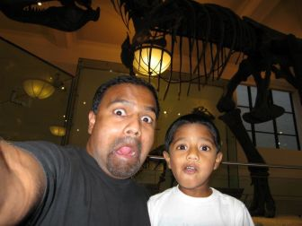 Josh & I visit the American Museum of Natural History