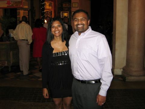 Our anniversary dinner at Cuba Libre