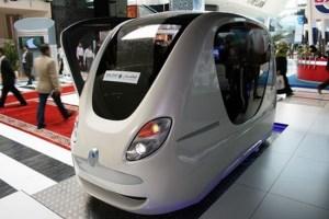 PRT (Personal Rapid Transit) podcar