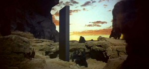 The monolith from 2001: A Space Odyssey