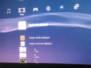 PlayOn Media Server on PS3