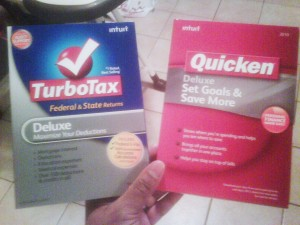 Intuit's Turbotax 2009 & Quicken 2010