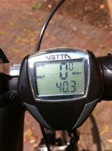 6/19/2011 - my Father's Day ride -- 40 miles
