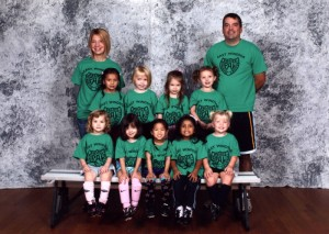 Fall 2011 - Lily's soccer team