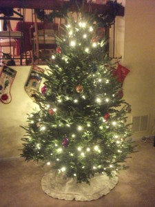 Our first Christmas tree