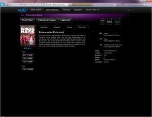 Vudu Streaming Audio screenshot