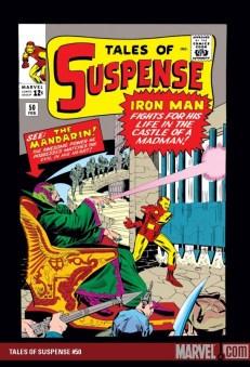 Old Iron Man comic book with the Mandarin