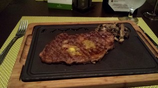 I ordered the ribeye. First decent steak that I've had in a while too