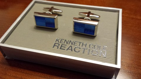 A Valentine's day gift from my wife -- new cufflinks
