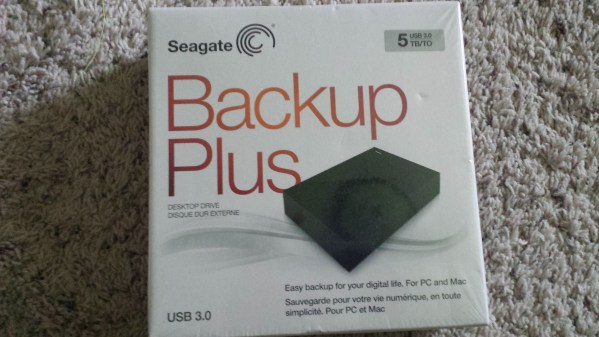 Seagate Backup Plus Desktop Drive (5 TB)