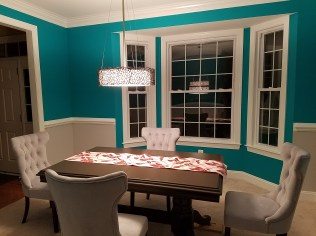 The new Dining Room coming together