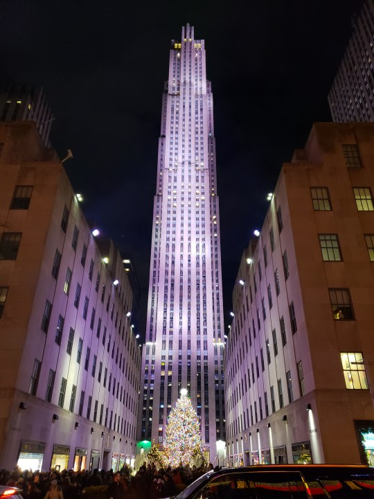 The Tree at Rockefeller Center 2018