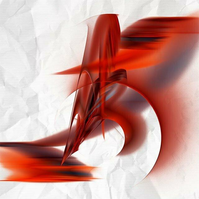 Rouge et blanc N°6