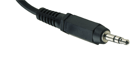 Picture of a stereo headphone jack
