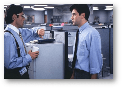 Scene from Office Space