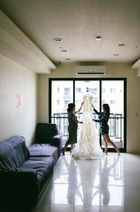 婚宴白紗在西方國家會將自己媽媽或阿嬤家人禮服傳承下去