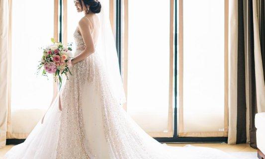一件完美的禮服,裙擺長度與寬度並不是重點